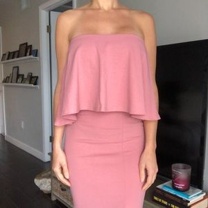 NWT Ruffle fitted dress.